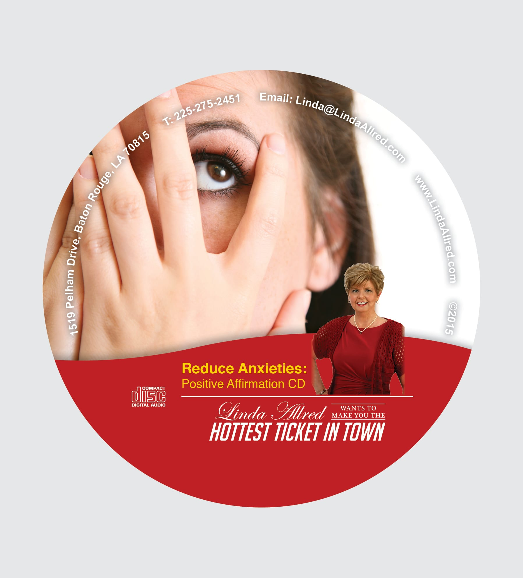 Stress Free NOW Self Hypnosis Home Study System - Linda Allred